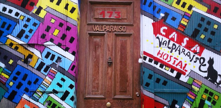 Claire Huxley - Welcome to Valpo, Valparaíso, Chile