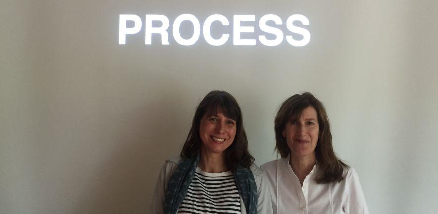 Joanna Hogg and Kathryn Worth