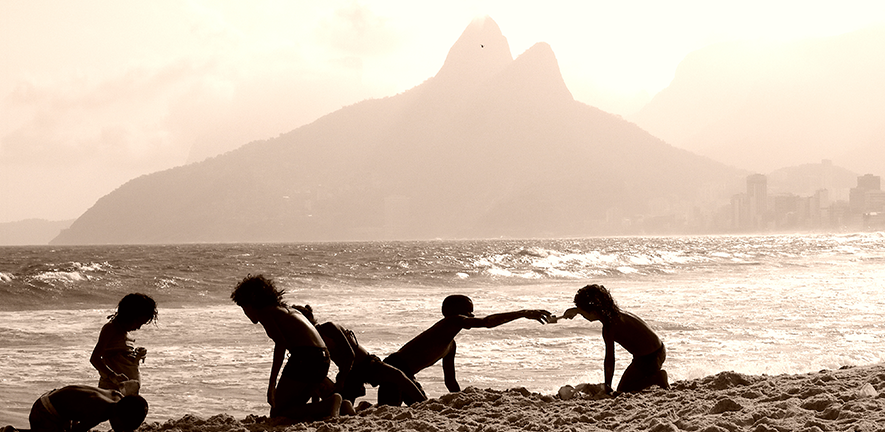 The Boys of Ipanema by Lydia Green