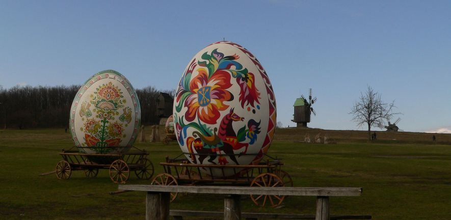 (c) Sophie Rust - Painted Easter Eggs in Ukraine