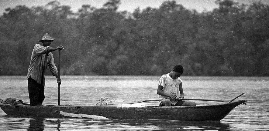 Fisherman in Guapí, Department of Cauca, Colombia by Rory OBryen