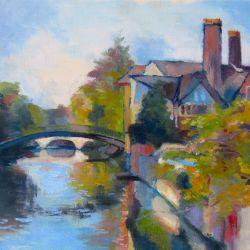 The Cam from Clare Bridge
