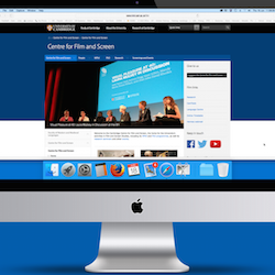 Centre for Film and Screen website