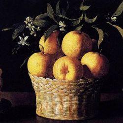 Francisco de Zurbarán, Still-life with Lemons, Oranges and Rose