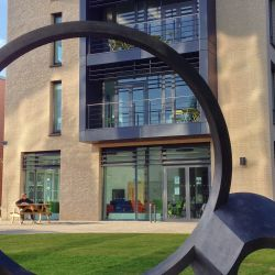 New sculpture at Sidgwick Site