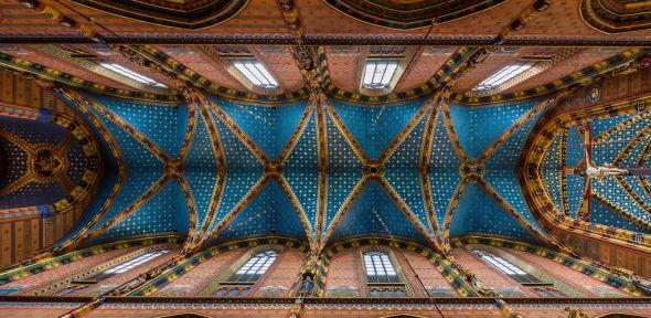 Krakow Church Ceiling