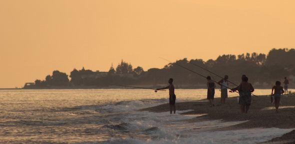 Al tramonto il mare