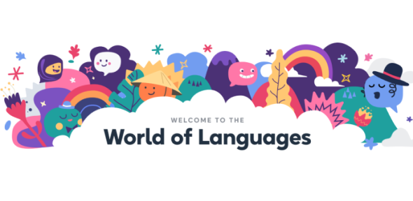 World of languages logo