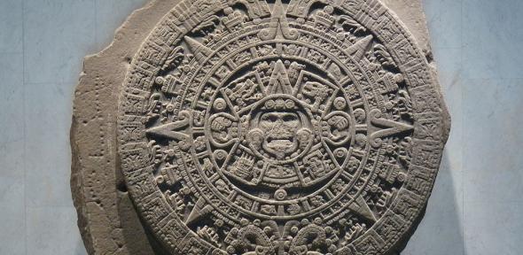 Piedra del Sol in Museo Nacional de Antropología, Mexico D.F.