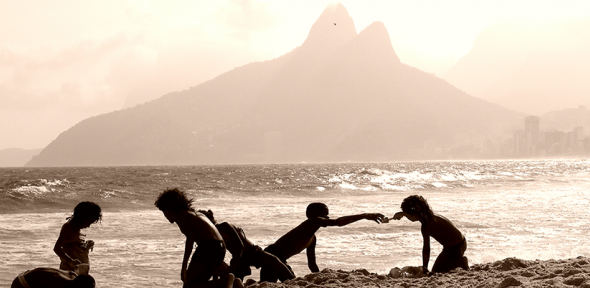 The Boys of Ipanema (c) Lydia Green